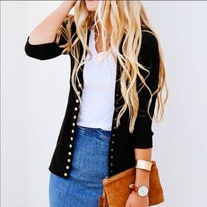 🔴 Zenana Outfitters snap closure cardigan